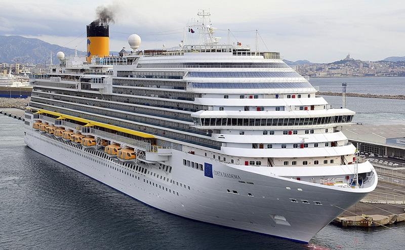 Фото лайнера Costa Diadema