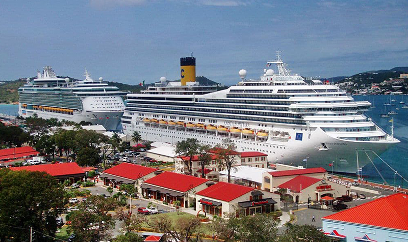 Фото лайнера Costa Fortuna