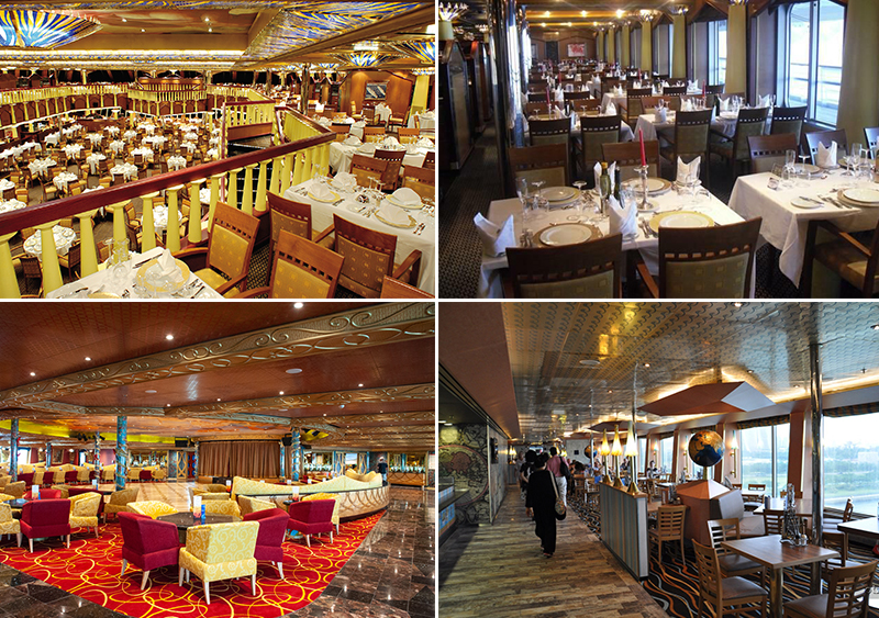 Рестораны на лайнере