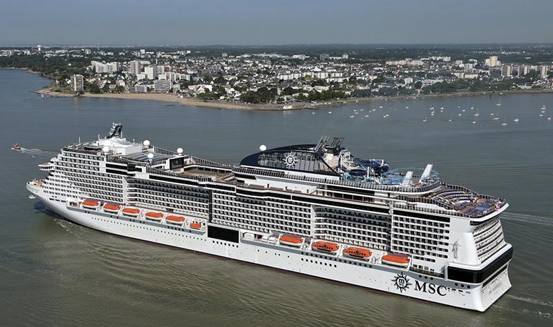Фото лайнера MSC Meraviglia