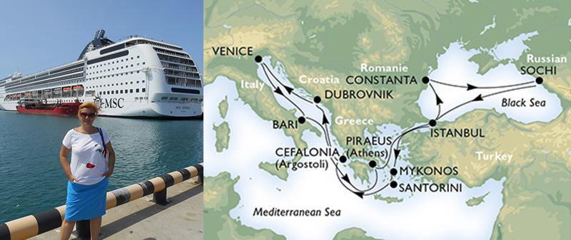 Круизы из Сочи по Средиземному морю