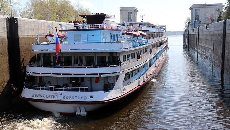 Поездка на судне «Константин Коротков»