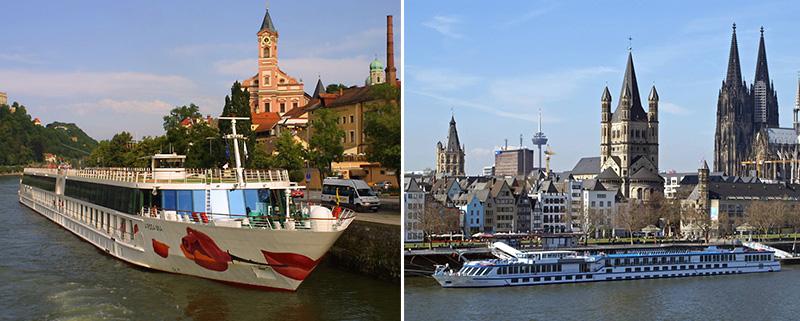 Круизы по Рейну и Дунаю